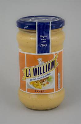 Sauce Banzaï LA WILLIAM 300ml