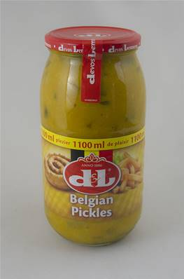 Véritable Sauce Piccalilli Belge ( Belgian Pickles) DL 1100ml