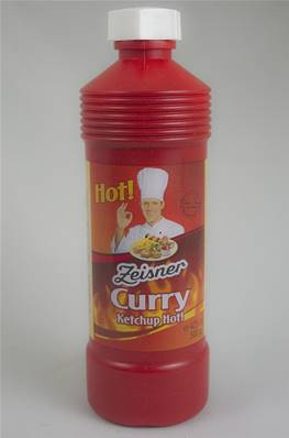 Curry Ketchup Piquant Tube 425ml