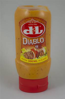 Sauce Diablo DL Tube plastique 300ml