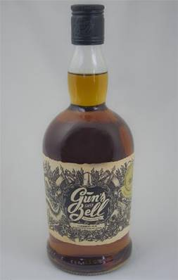 RUM Caribbean Spiced GUNS BELL 70cl
