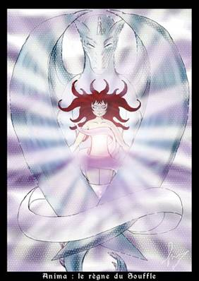 Carte postale univers Anima