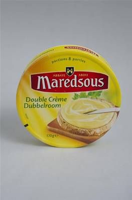 Fromage à Tartiner Maredsous Double Crème 8 portions 170g