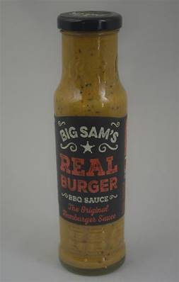 Sauce Real Burger BIG SAMS 250ml