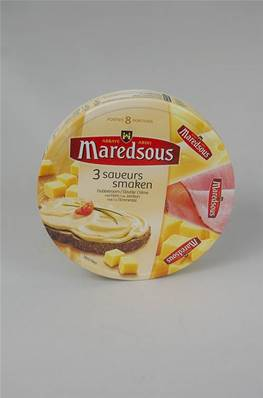 Fromage à Tartiner Maredsous au Jambon 8 portions 170g
