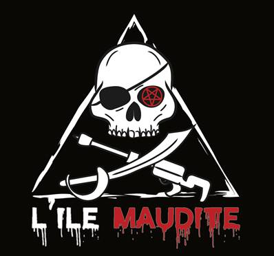"Sticker ""L'Ile Maudite"