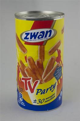 30 Saucisses Fumées natures TV Party ZWAN 560g